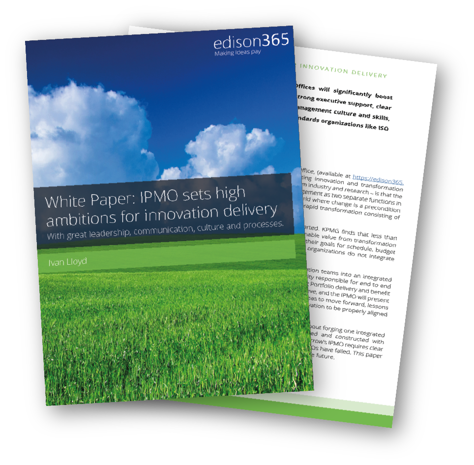 White Paper - IPMO sets high ambitions for innovation delivery Thumbnail